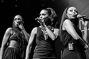 En Vogue performs during the Summer Spirit Festival at Merriweather Post Pavilion in Columbia, Md on Sunday, August 6, 2017.