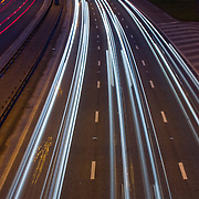 M8 at night with Streaking Lights