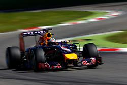 06.09.2014, Autodromo di Monza, Monza, ITA, FIA, Formel 1, Grand Prix von Italien, Qualifying, im Bild Sebastian Vettel (GER) Red Bull Racing RB10. // during the Qualifying of Italian Formula One Grand Prix at the Autodromo di Monza in Monza, Italy on 2014/09/06. EXPA Pictures © 2014, PhotoCredit: EXPA/ Sutton Images/ Martini<br /> <br /> *****ATTENTION - for AUT, SLO, CRO, SRB, BIH, MAZ only*****