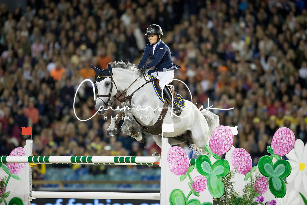 Baryard-Johnsson Malin, SWE, H&amp;M Cue Channa 42<br /> FEI European Jumping Championships - Goteborg 2017 <br /> &copy; Hippo Foto - Dirk Caremans