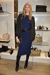 Jade Parfitt at a party to launch Ashley Robert's new footwear range Allyn held ay Larizia, 74 St.John's Wood High Street, London England. 8 February 2017.