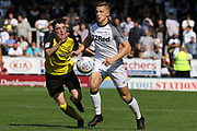 Derby County's Joe Bateman during the Pre-Season Friendly match between Burton Albion and Derby County at the Pirelli Stadium, Burton upon Trent, England on 20 July 2019.