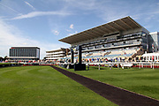 A general view of the racecourse prior to the third day of the St Leger Festival at Doncaster Racecourse, Doncaster, United Kingdom on 13 September 2019.