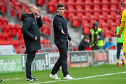 Fleetwood Town Manager Joey Barton during the EFL Sky Bet League 1 match between Doncaster Rovers and Fleetwood Town at the Keepmoat Stadium, Doncaster, England on 6 October 2018.