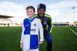 Mascots - Rogan Thomson/JMP - 04/12/2016 - FOOTBALL - Memorial Stadium - Bristol, England - Bristol Rovers v Barrow AFC - FA Cup Second Round.