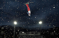 Freestyle Skiing: 2014 Winter Olympics: Zhongqing Liu (1) of China in action during Men's Aerials Qualifications at Rosa Khutor Extreme Park. Krasnaya Polyana, Russia 2/17/2014 CREDIT: Jed Jacobsohn (Photo by Jed Jacobsohn /Sports Illustrated