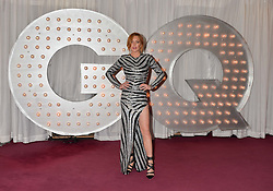 LINDSAY LOHAN at the GQ Men Of The Year 2014 Awards in association with Hugo Boss held at The Royal Opera House, London on 2nd September 2014.