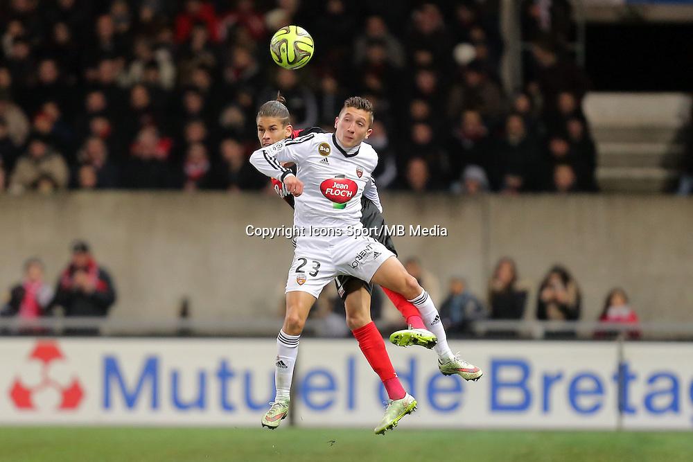 Mathias AUTRET  - 24.01.2015 - Guingamp / Lorient - 22eme journee de Ligue1<br />Photo : Vincent Michel / Icon Sport *** Local Caption ***