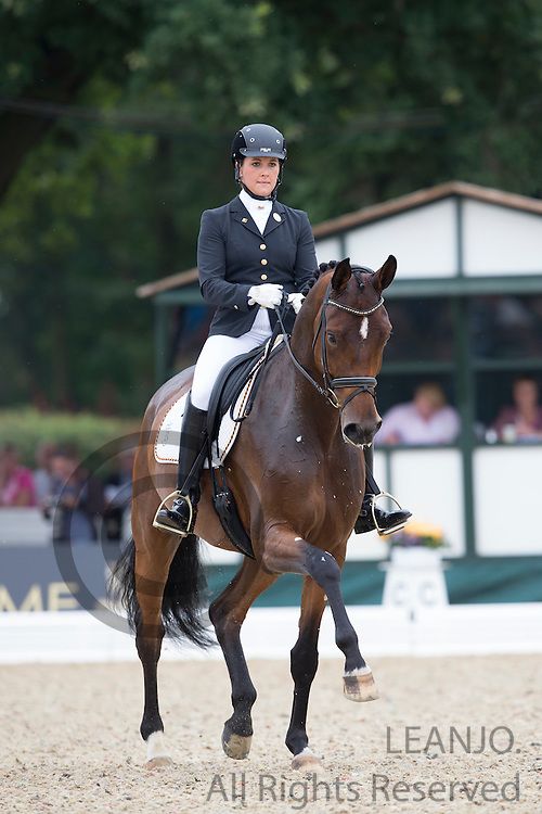 Victoria Michalke - Novia 6<br /> FEI World Breeding Dressage Championships for Young Horses 2012<br /> © DigiShots