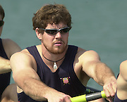 2003 - FISA World Cup Rowing Milan Italy.30/05/2003  - Photo Peter Spurrier.USA M4- Darren Walsh [Mandatory Credit: Peter Spurrier:Intersport Images]