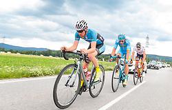 03.07.2017, Wien, AUT, Ö-Tour, Österreich Radrundfahrt 2017, 1. Etappe von Graz nach Wien (193,9 km), im Bild Stephan Rabitsch (AUT, Team Felbermayr Simplon Wels) // during the 1st stage from Graz to Vienna (193,9 km) of 2017 Tour of Austria. Wien, Austria on 2017/07/03. EXPA Pictures © 2017, PhotoCredit: EXPA/ JFK