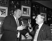 Jimmy O'Dea and Josef Locke in Neary's Bar 11/04/1958