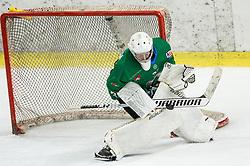 Tilen Spreitzer of SZ Olimpija during ice hockey match between HK SZ Olimpija and WSV Sterzing Broncos Weihenstephan (ITA) in Round #12 of AHL - Alps Hockey League 2018/19, on October 30, 2018, in Hala Tivoli, Ljubljana, Slovenia. Photo by Vid Ponikvar / Sportida