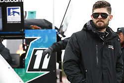 April 7, 2018 - Ft. Worth, Texas, United States of America - April 07, 2018 - Ft. Worth, Texas, USA: Ryan Truex (11) hangs out on pit road before qualifying for the My Bariatric Solutions 300 at Texas Motor Speedway in Ft. Worth, Texas. (Credit Image: © Chris Owens Asp Inc/ASP via ZUMA Wire)
