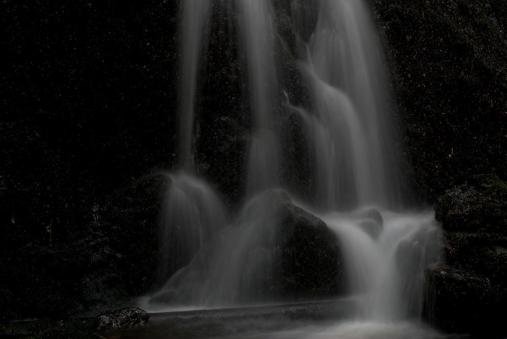A waterfall in Alva Glen, Scotland