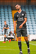 Rachid Ghezzal of Leicester City (31) reacts during the Pre-Season Friendly match between Scunthorpe United and Leicester City at Glanford Park, Scunthorpe, England on 16 July 2019.