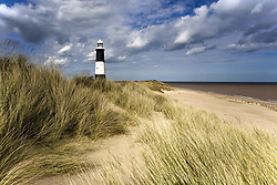 July 21, 2019 - Lighthouse On Beach, Humberside, England (Credit Image: © John Short/Design Pics via ZUMA Wire)