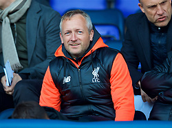 BIRKENHEAD, ENGLAND - Monday, April 24, 2017: Liverpool's Under-18 manager Neil Critchley during the Under-23 FA Premier League 2 Division 1 match against Manchester City at Prenton Park. (Pic by David Rawcliffe/Propaganda)