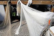 Anzio (RM), 11/09/2009: porto, la banchina della piccola pesca.