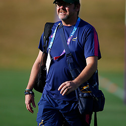 SHIZUOKA, JAPAN - SEPTEMBER 30: Konrad von Hagen Dr (Team doctor) of South Africa during the South African national rugby team training session at Nexta Training Field on September 30, 2019 in Shizuoka, Japan. (Photo by Steve Haag/Gallo Images)