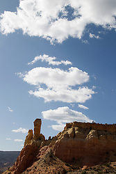 Chimney Rock in Abiquiu, New Mexico