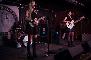 The Prettiots performing during 35 Denton at Rubber Gloves in Denton, Texas on March 15, 2015. (Cooper Neill for The New York Times)