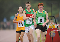 21 Aug 2016:   Cormac McDermott (12) from Mayo, finishing 3rd in the Boys U16 1500m final.  2016 Community Games National Festival 2016.  Athlone Institute of Technology, Athlone, Co. Westmeath. Picture: Caroline Quinn
