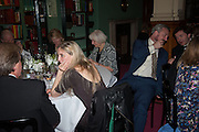 ROBIN HURLESTONE; EVA RICE; STEFAN RATIBOR, The London Library Annual  Life in Literature Award 2013 sponsored by Heywood Hill. The London Library Annual Literary dinner. London Library. St. james's Sq. London. 16 May 2013.
