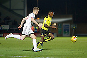 Burton Albion midfielder Lloyd Dyer (11) during the EFL Sky Bet Championship match between Burton Albion and Fulham at the Pirelli Stadium, Burton upon Trent, England on 1st February 2017. Photo by Richard Holmes.