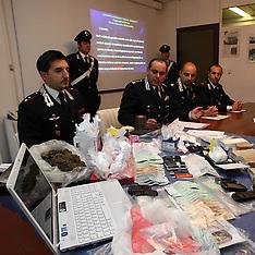 20111020 SEQUESTRO DROGA CARABINIERI OPERAZIONE BOLLETTA SALATA