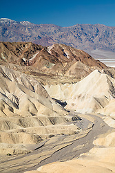 """Gower Gulch 1"" - Photograph taken from Zabriskie Point of Gower Gulch in Death Valley, California."
