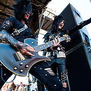 Black Veil Brides performing at Epicenter 2010 in Fontana California USA on September 26, 2010
