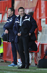 Crawley Town Manager, Dean Saunders - Photo mandatory by-line: Dougie Allward/JMP - Mobile: 07966 386802 - 07/03/2015 - SPORT - Football - Crawley - Broadfield Stadium - Crawley Town v Bristol City - Sky Bet League One