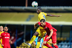 Shamar Nicholson of NK Domzale during 2nd Leg Football match between NK Domzale and FC Balzan  in First Qualifying match of UEFA Europa League 2019/2020, on July 18, 2019 in Sports park Domzale, Domzale, Slovenia. Photo by Ziga Zupan / Sportida