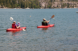 Pinecrest Lake, Watersports, Pinecrest, California, USA.  Photo copyright Lee Foster.  Photo # california122522
