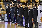 DESCRIZIONE : Campionato 2014/15 Virtus Acea Roma - Giorgio Tesi Group Pistoia<br /> GIOCATORE : Staff Tecnico<br /> CATEGORIA : Before Pregame Ritratto<br /> SQUADRA : Virtus Acea Roma<br /> EVENTO : LegaBasket Serie A Beko 2014/2015<br /> GARA : Dinamo Banco di Sardegna Sassari - Giorgio Tesi Group Pistoia<br /> DATA : 22/03/2015<br /> SPORT : Pallacanestro <br /> AUTORE : Agenzia Ciamillo-Castoria/GiulioCiamillo<br /> Predefinita :