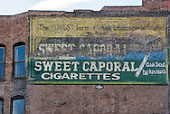 Butte, Montana, antique mural, uptown
