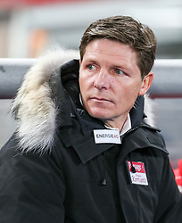 10.02.2018, Ernst Happel Stadion, Wien, AUT, 1. FBL, FK Austria Wien vs Lask, 22. Runde, im Bild Trainer, Oliver Glasner (LASK) // during Austrian Football Bundesliga Match, 22nd Round, between FK Austria Vienna and Lask at the Ernst Happel Stadion, Vienna, Austria on 2018/02/10. EXPA Pictures © 2018, PhotoCredit: EXPA/ Alexander Forst