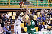 Moore Lee, Germani Basket Brescia vs Stelmet Zielona Gora, 2 edizione Trofeo Roberto Ferrari, PalaGeorge di Montichiari 22 settembre 2017