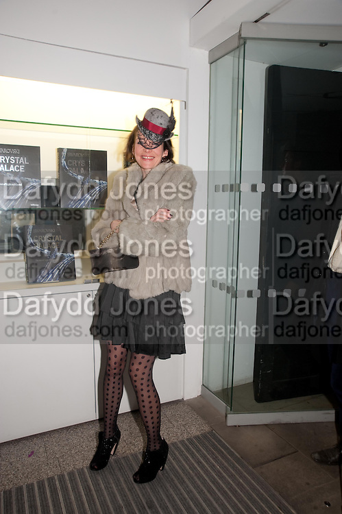 THOMASINA MIERS, Swarovski Whitechapel Gallery Art Plus Opera,  An evening of art and opera raising funds for the Whitechapel Education programme. Whitechapel Gallery. 77-82 Whitechapel High St. London E1 3BQ. 15 March 2012