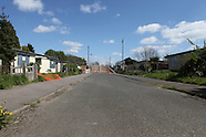 Catford - Excalibur Estate - behind the fences - 15/04/2014
