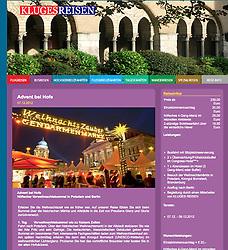 Screenshot from KlugesReisen tour guide; Berlin Christmas Market