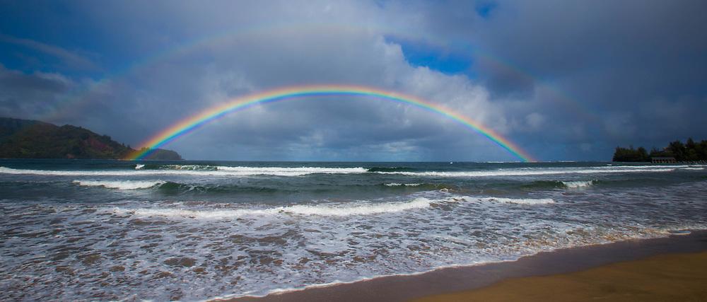 Hawaiian Rainbow, Hanalei Bay Kauai