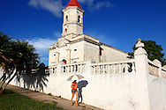 Church in Jaruco, Mayabeque Province, Cuba.