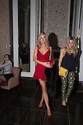 KIMBERLEY GARNER, ; OLIVIA COX; , Cocktails with Marilyn, viewing of photographs of Marilyn Monroe by Bert Stern, Eve Arnold, Douglas Kirkland, and Frank Worth presented by Zebra One Gallery. The Langham, London.
