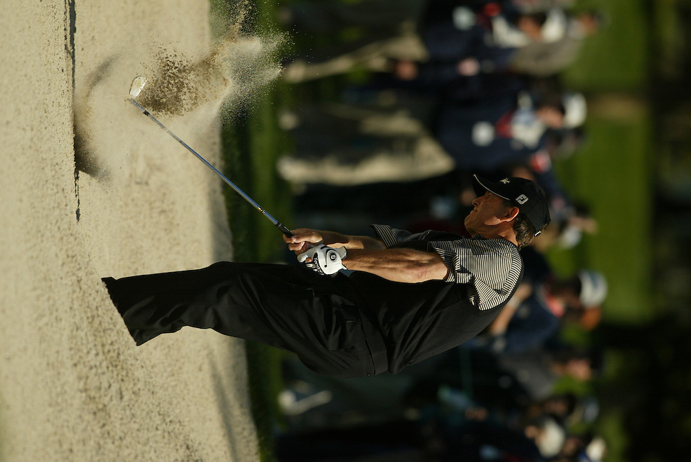 2003 WGC Accenture Match Play Championship..3rd Round..La Costa Resort..February 28, 2003..Photograph by Darren Carroll...Jay Haas