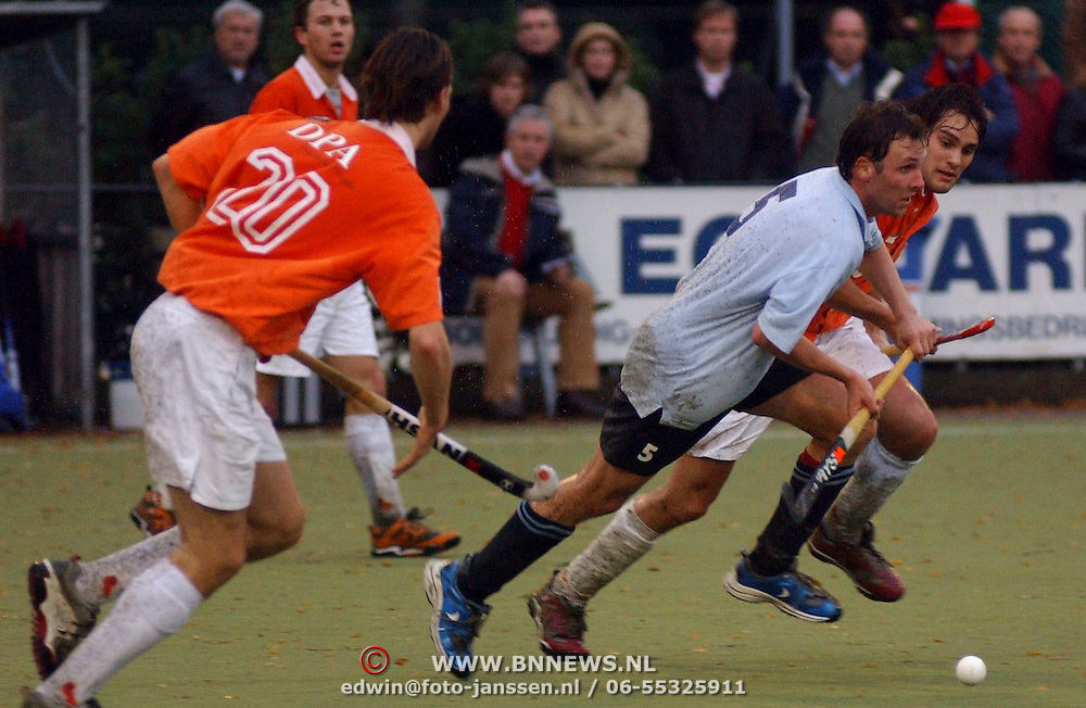 Hockey Laren - Bloemendaal, Ewoud Caspers