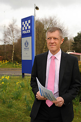Willie Rennie was outside Police HQ Fife, with the report on police reforms<br /> <br /> (c) David Wardle | Edinburgh Elite media