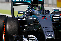 ROSBERG nico (ger) mercedes gp mgp w06 action during 2015 Formula 1 FIA world championship, Spain Grand Prix, at Barcelona Catalunya from May 8th to 10th. Photo Florent Gooden / DPPI