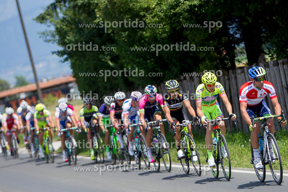 Michael Matthews of Orica-GreenEdge during Stage 4 from Skofja Loka to Novo Mesto (153 km) of cycling race 21st Tour of Slovenia, on June 22, 2014 in Slovenia. Photo By Urban Urbanc / Sportida